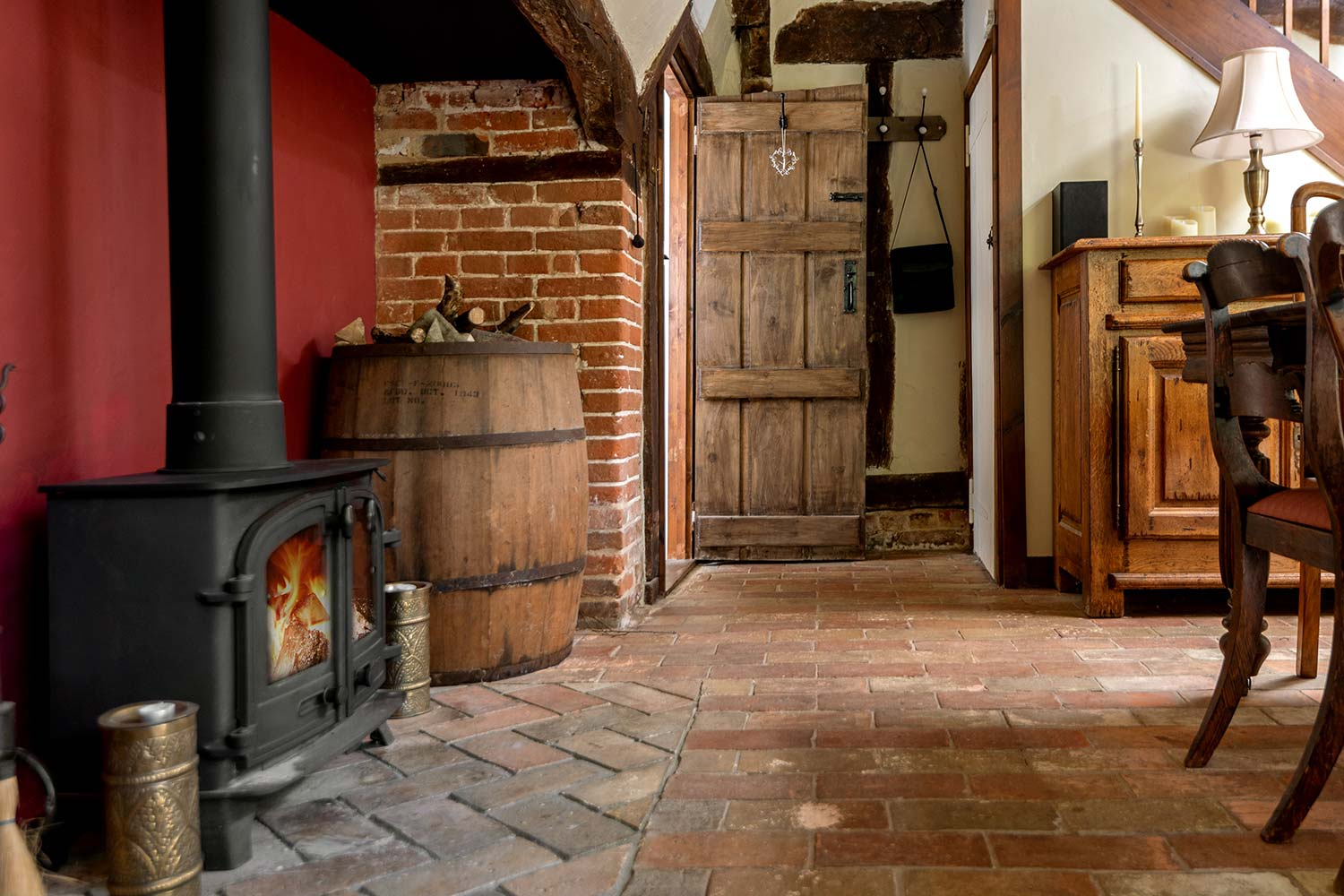 Holiday cottage with fire in Suffolk | Cressland